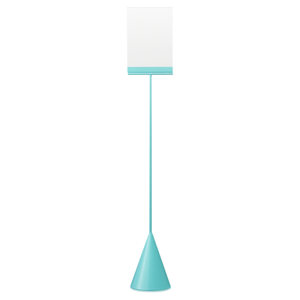 turquoise a5 display - cone collection